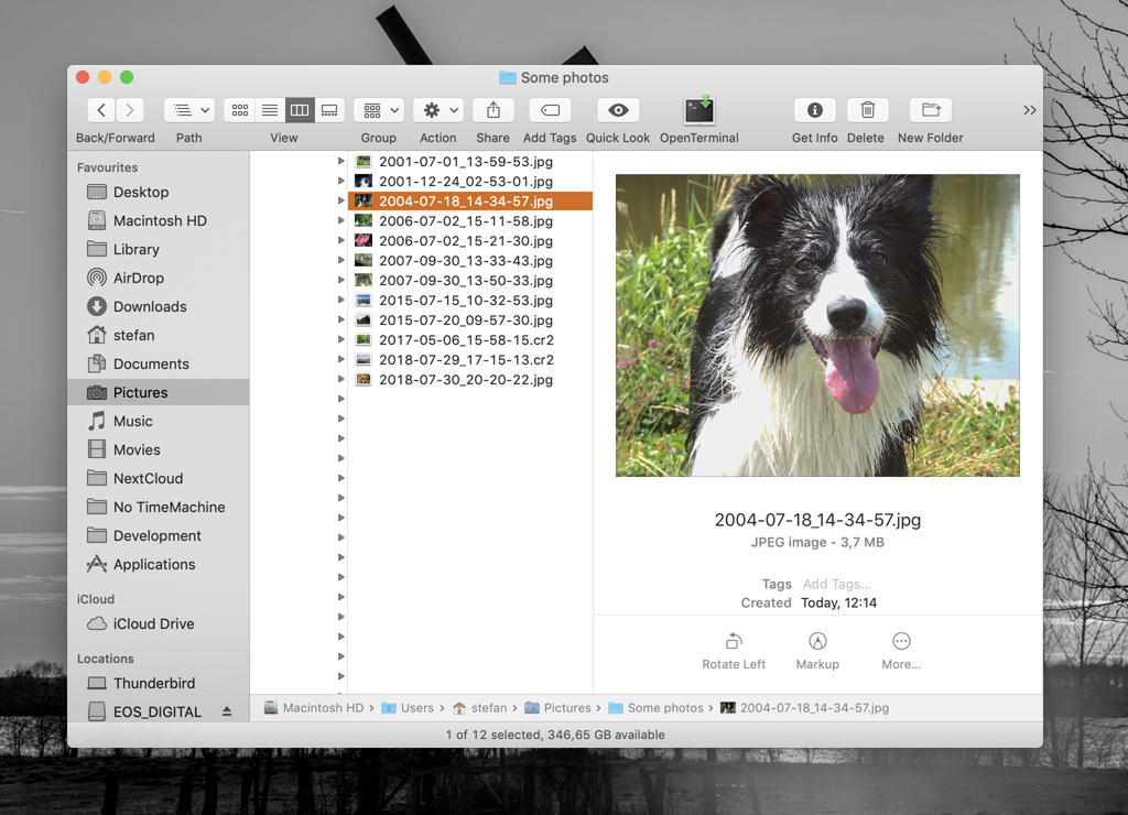 Finder Screenshot After Renaming